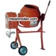 Mesin Molen Beton Kuda MX-125 Motor Penggerak 2/3 HP